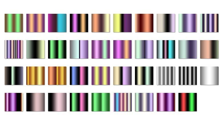 mes vieux gradients