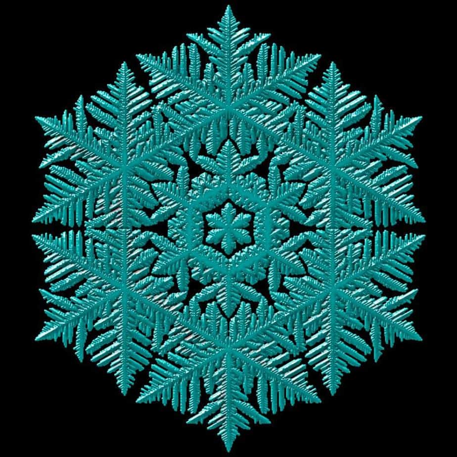 Here is the snowflake obj you can use in your own projects. Use the obj_mesh_wf to load it with the gear...