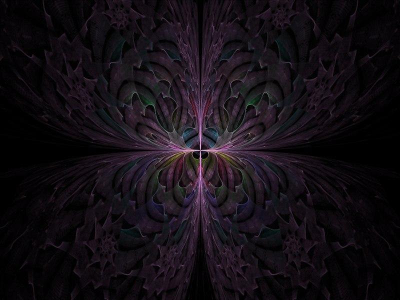 Escher Butterfly