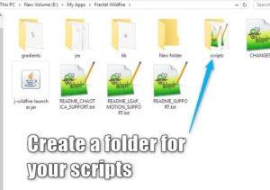 1 Create Folder