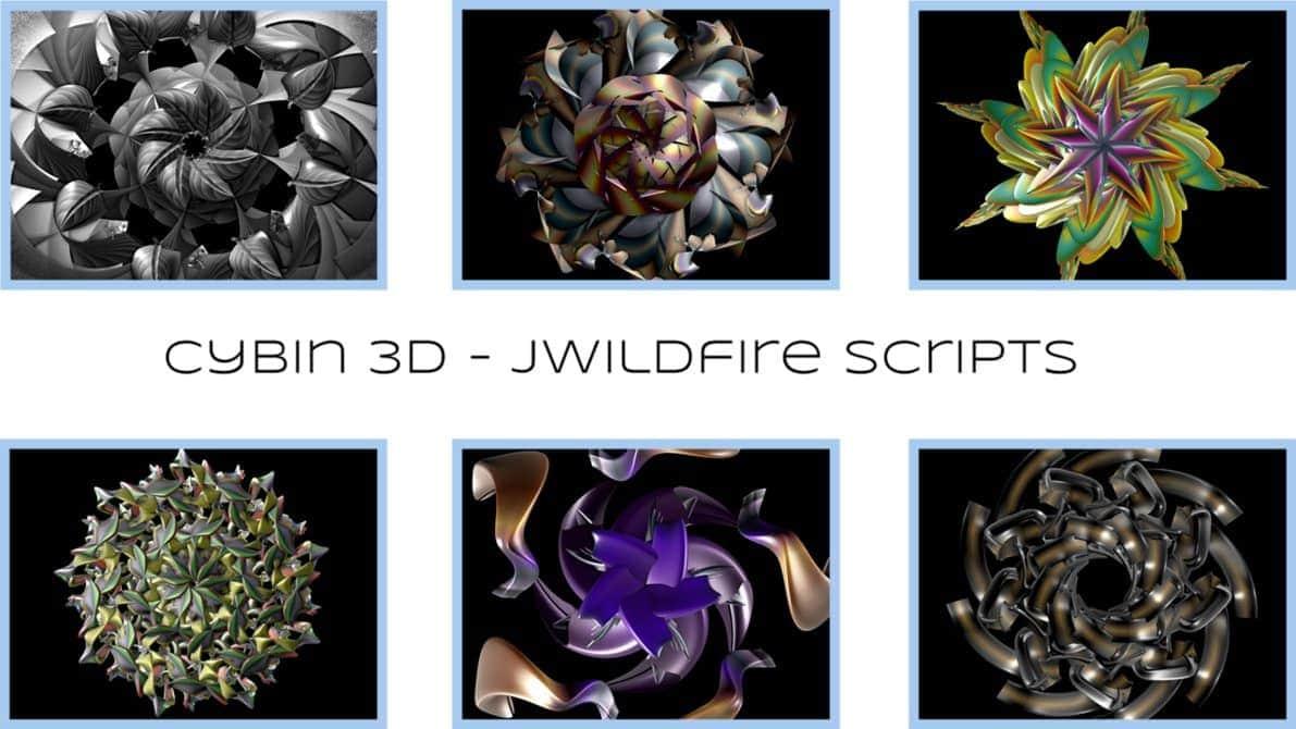 cybin3d   jwildfire scripts by audiomonk