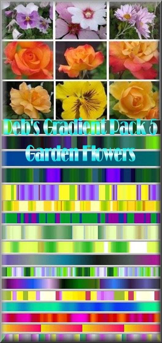 debs gradient pack 5 garden by dwalker1047
