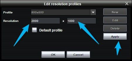 3 Enter Resolution Size | Make a Panorama Image for Facebook