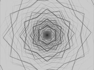 Black White Maurer lines Star 1