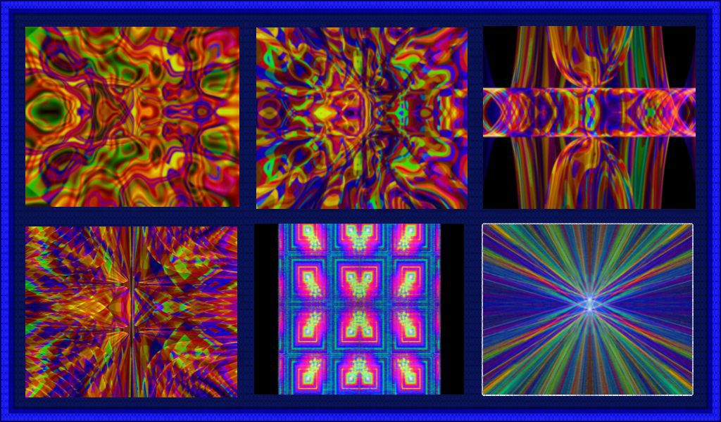 Here is my recently made Flame Pack Being most of the patterns looks sort of psychedelic, I named it...