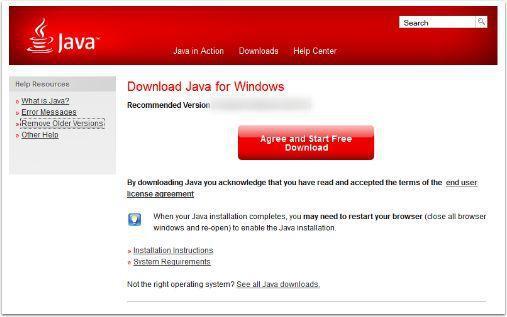 Download New Java Version Start Download