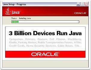 Java Installer Progress