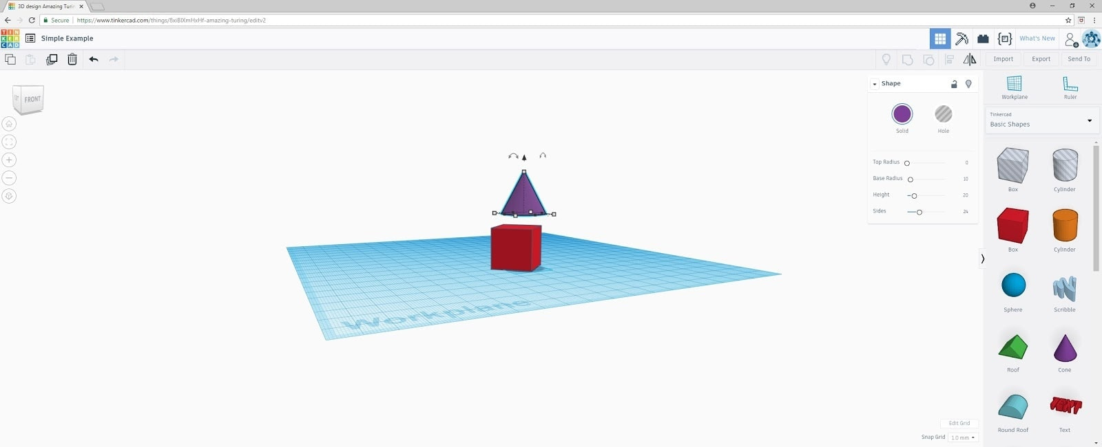 TinkerCAD4 | Making a 3D Object with TinkerCAD by Tracy Colello