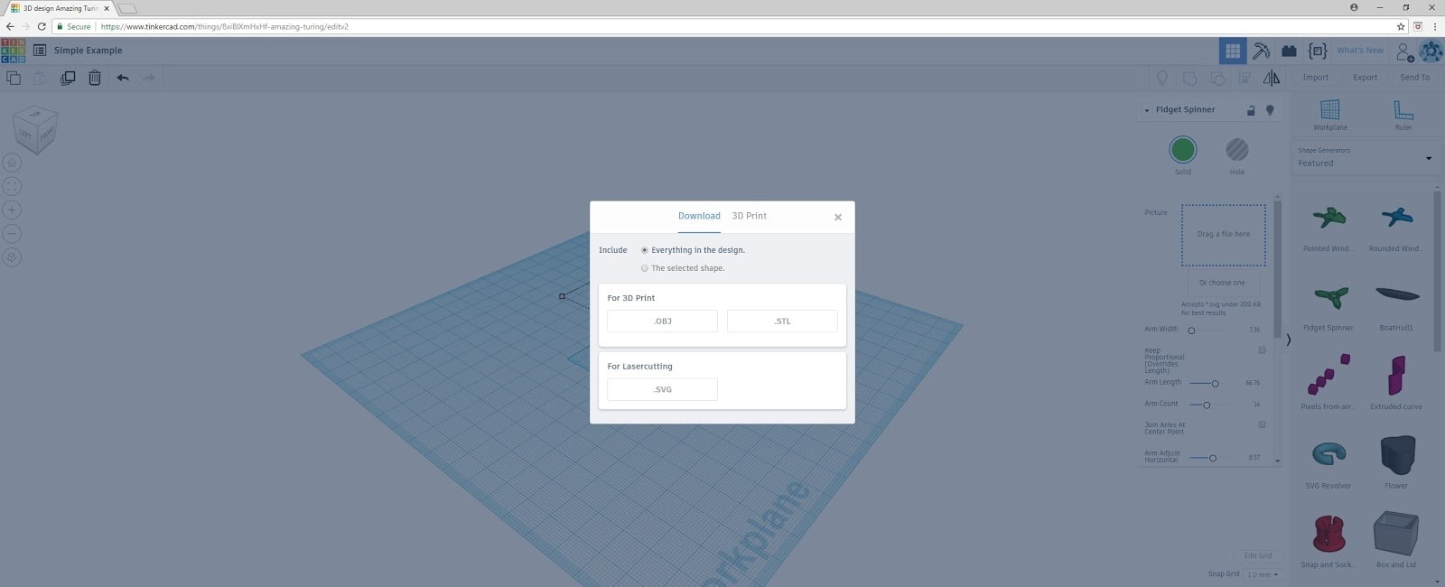 TinkerCAD6 | Making a 3D Object with TinkerCAD by Tracy Colello