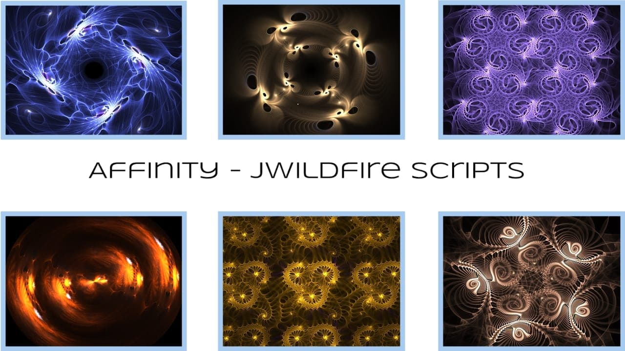 Affinity Scripts - Michael Bourne 2018 (JWildfire 3.5 and above only) What happens when you take affine3D...