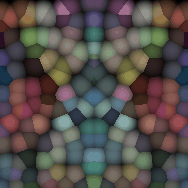 Perlin Color Crystalize 2 | Weird Sphere - how to get a quality render