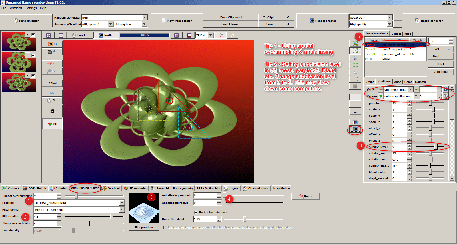 Weird Sphere  spatial os ai sub div level tile 2 | Weird Sphere - how to get a quality render