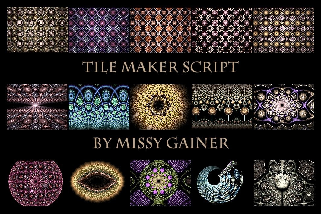 TMwebimage | Tile Maker by Missy Gainer