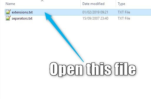 Step 2 Open file | Creating a flame pack from a folder