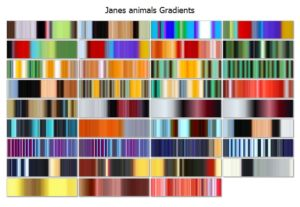 Janes AnimalsCover | Jane Spaulding Gradients Pack from Jux