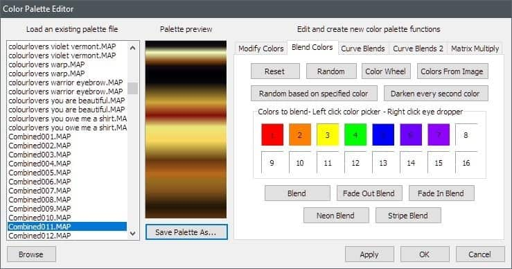 Settings2 | How to get gradients by the ton and alternative gradient designer