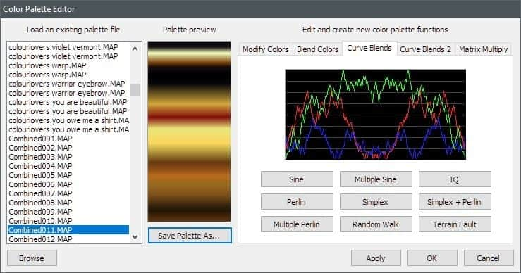 Settings3 | How to get gradients by the ton and alternative gradient designer