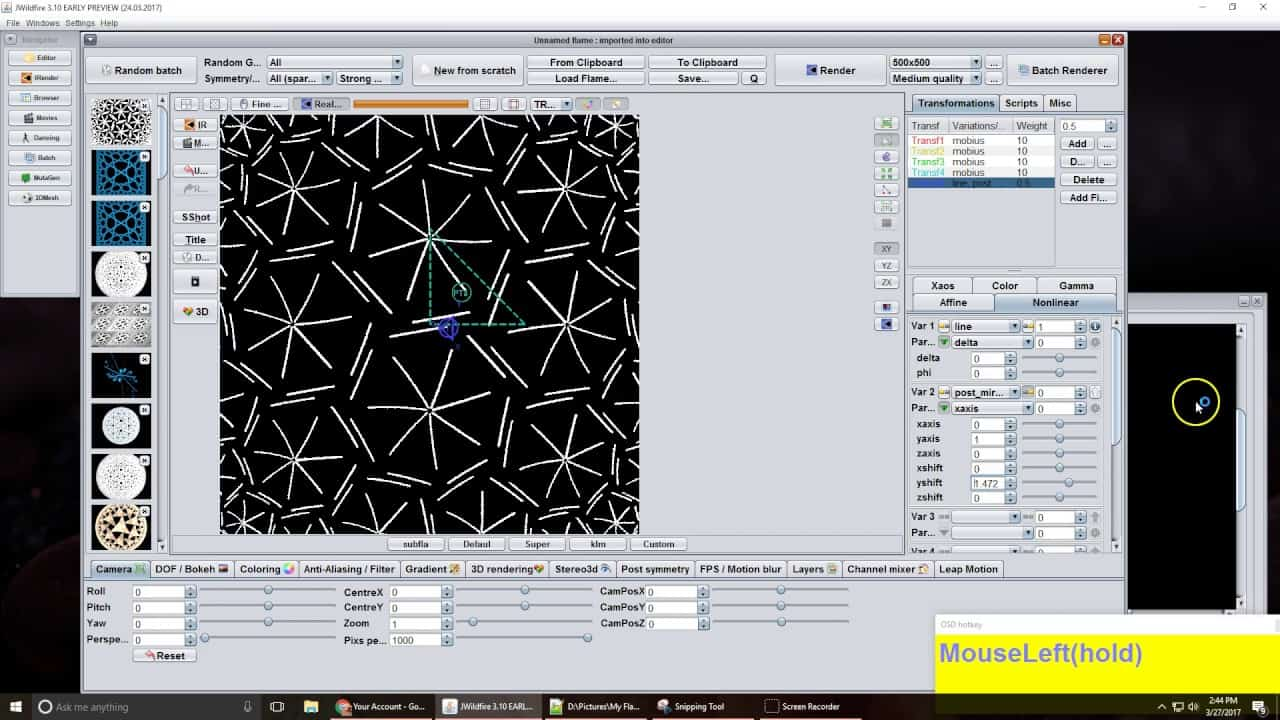 playing with mobius tile script by jesus sosa | Playing with mobius tile script by Jesus Sosa