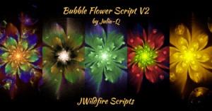 Bubble Flower Script V2 Image Display