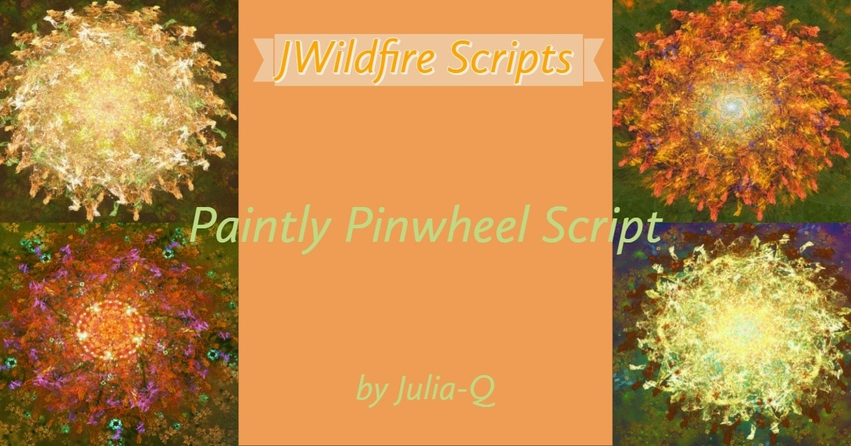 Paintly Pinwheel Script Image Display | Paintly Pinwheel