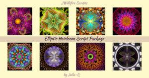 Elliptic Heirloom Script Package Display | Elliptic Heirloom Script Package