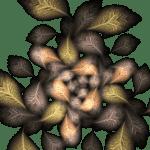 Flowers leaves