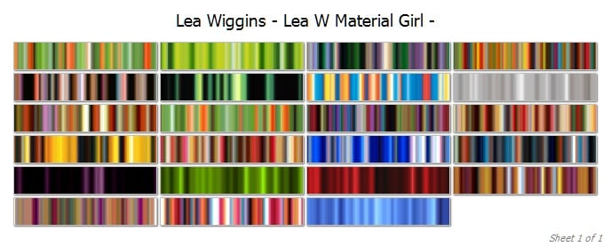 Many thanks to Lea for donating gradients she's created over the years. ...