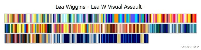 Visual Assault cover 2 | Lea Wiggins Visual Assault Collection