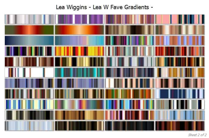 fave gradients cover 2 | Lea Wiggins Fave Collection