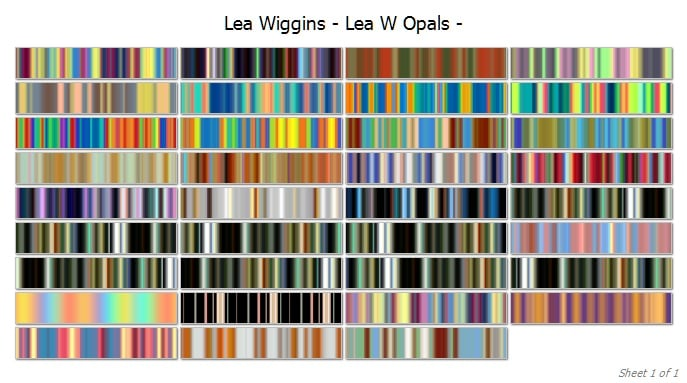 opals cover | Lea Wiggins Opals Collection