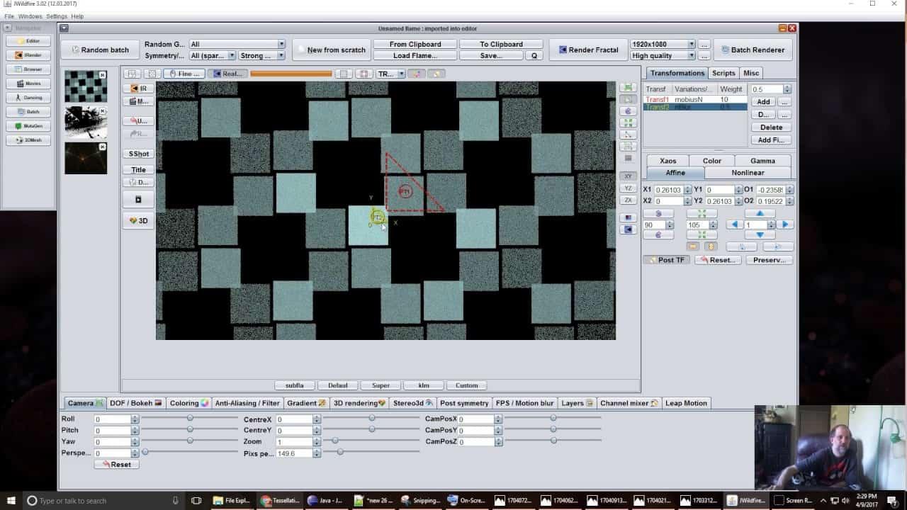 tessellations in jwildfire | Tessellations in JWildfire