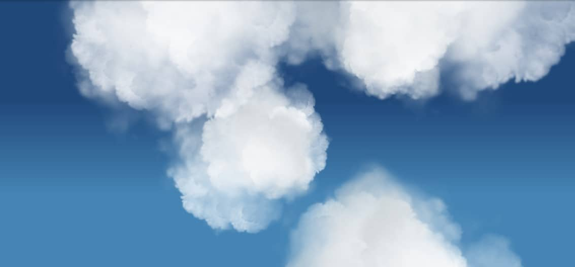 Clouds using CSS 3D Transforms