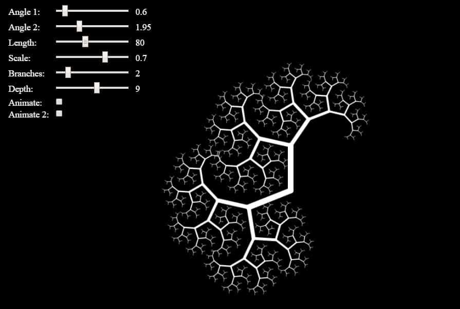 lsystem fractals | L-System Fractals