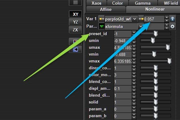 parplot set | Following Similar Lines