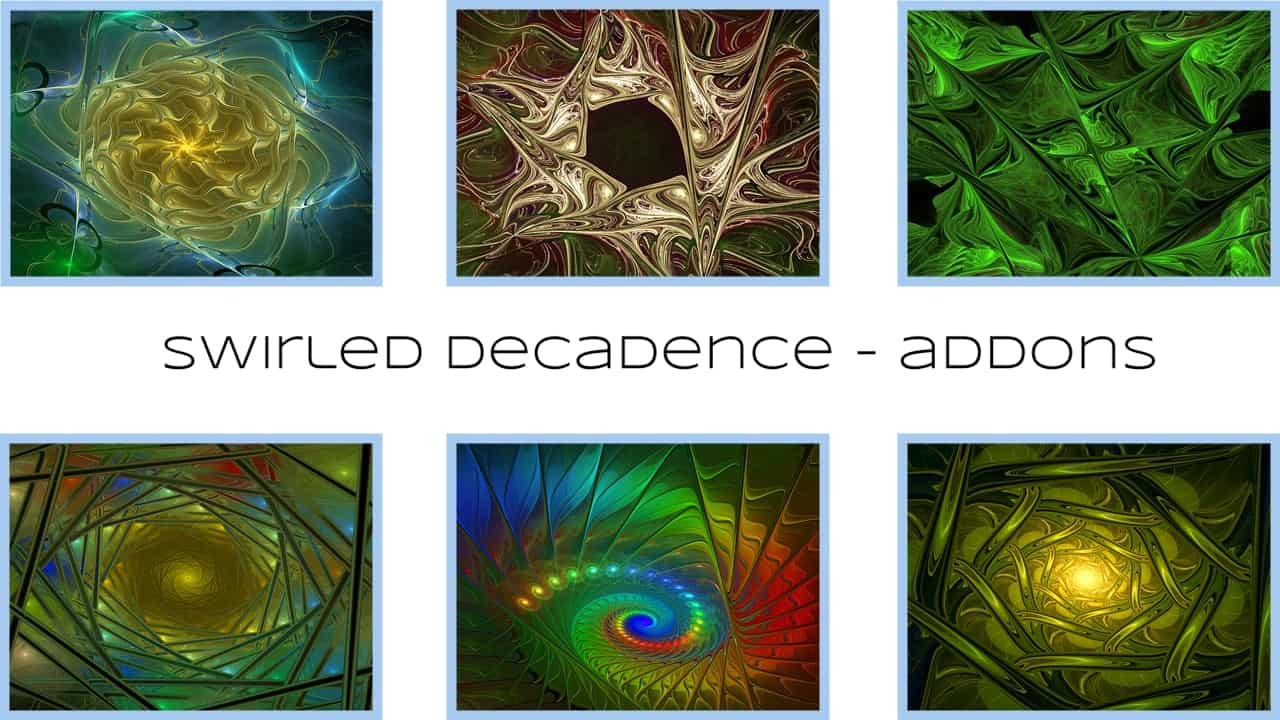 Swirled Decadence Additional Scripts Michael Bourne 2020 You can find the main Swirled Decadence pack...