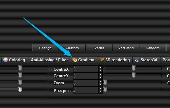 Click Gradient Tab