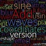 variations word cloud