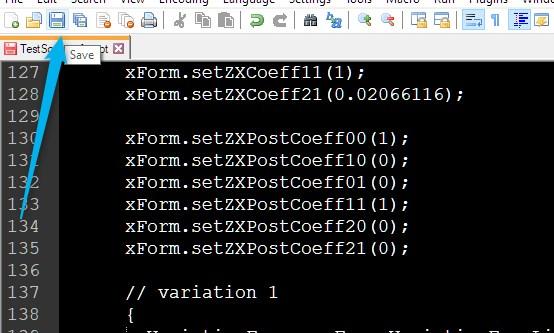 script tutorial pt2-6 saving script
