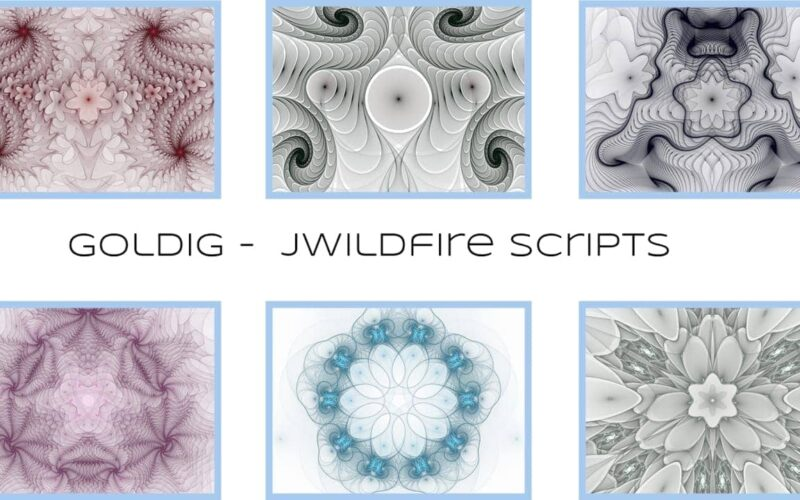 Goldig Scripts by Michael Bourne Image