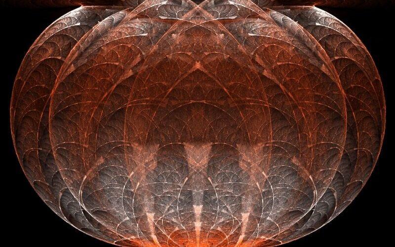 Elliptic Split 3D Image