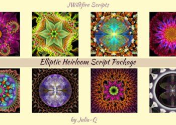 Elliptic Heirloom Script Package