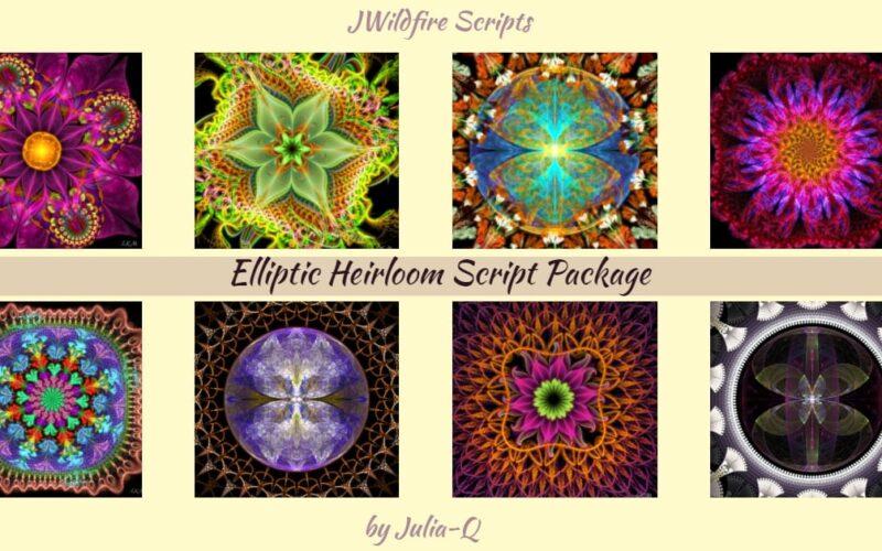 Elliptic Heirloom Script Package Image
