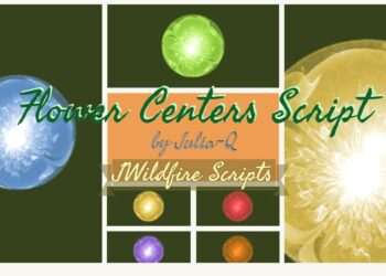 Flower Centers Script