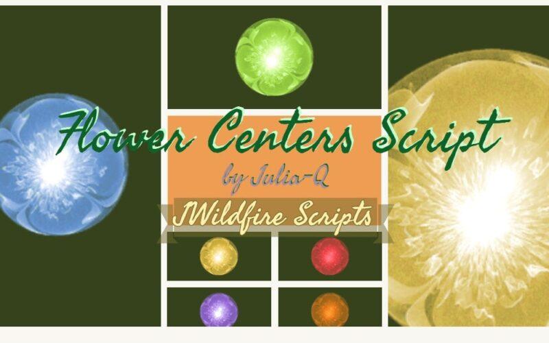 Flower Centers Script Image