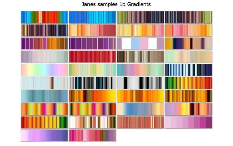 Jane Spaulding Gradients Pack from Jux Image