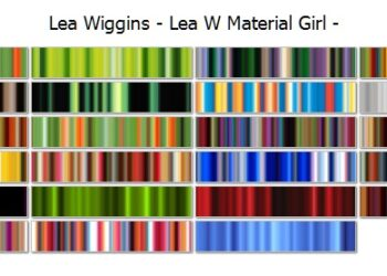 Lea Wiggins Material Girl Collection
