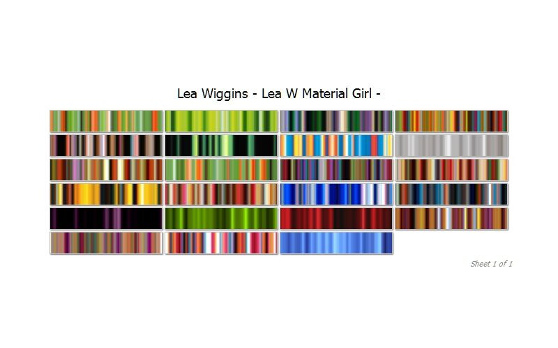 Lea Wiggins Material Girl Collection Image