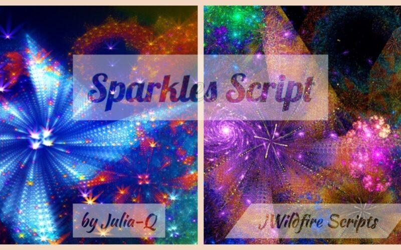 Sparkles Script Image