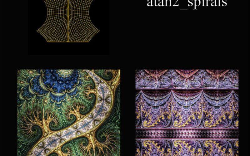 Atan2 Spirals - Whittaker Courtney Image