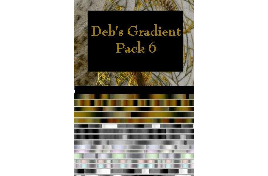Gradient Pack 6 - Silver and Gold - Deb Walker
